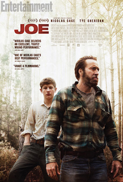 JOE (2014) movie poster -- exclusive EW.com image